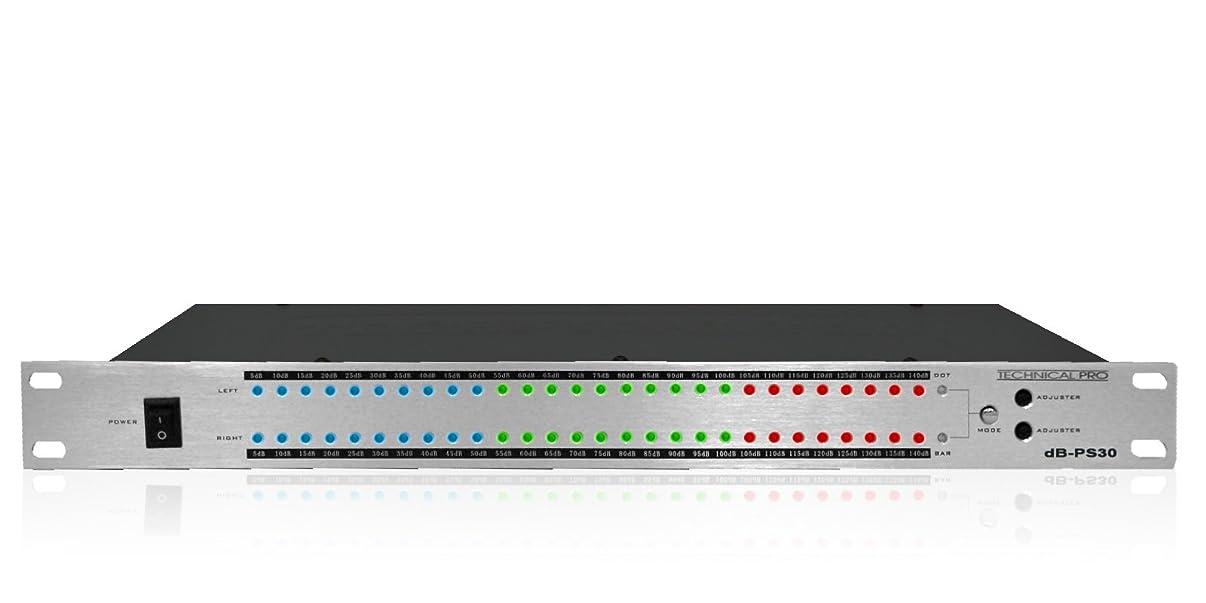 Technical Pro DB301U RACK MOUNT DB DISPLAY WITH POWER SUPPLY
