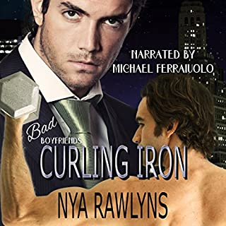 Curling Iron audiobook cover art