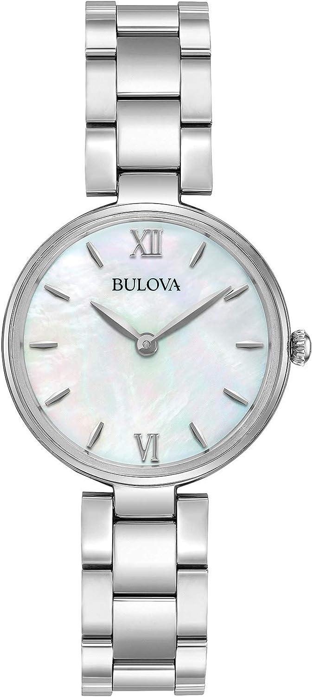 Bulova Max 85% OFF Women's Watch 4 years warranty