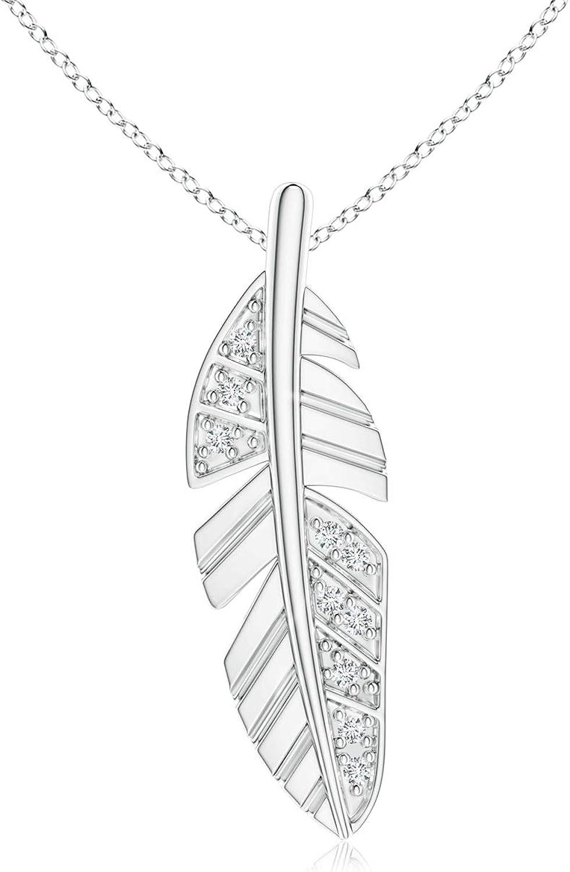 Diamond Encrusted price Ranking TOP12 Leaf Pendant 0.9mm