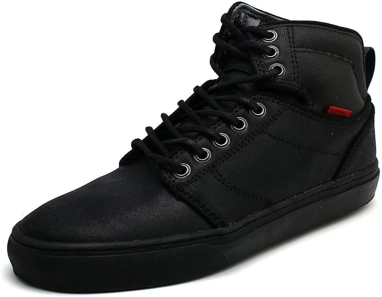 Vans Alomar Bomber Black Black Men's Mid Top Sneakers