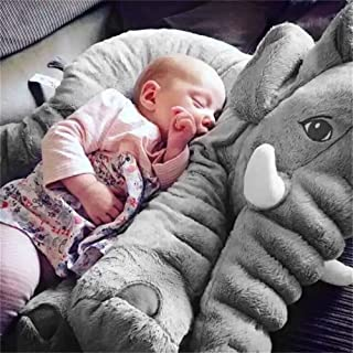Dropshipping 40Cm 5 Colors Long Nose Plush Elephant Toy Lumbar Elephant Pillow Doll Bed Cushion Kids Toy For Girl Stuffed Must Have Gifts Gift Tags Girls Favourite Characters Superhero Birthday