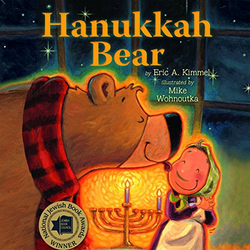 Hanukkah Bear audiobook cover art