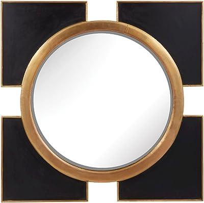 Elk Lighting wall mirror, Black, Gold