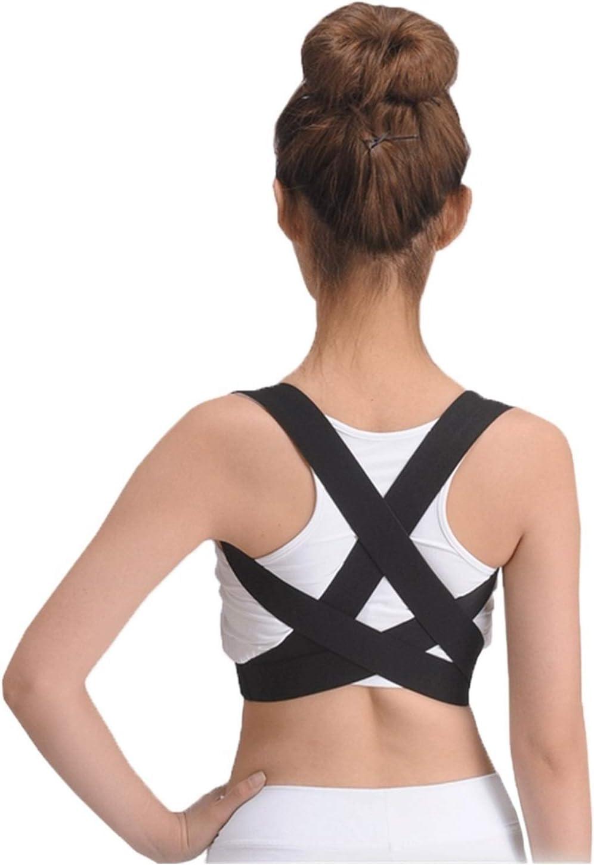 YLFC THUCHENYUC Wholesale Gorgeous Elastic Back Brace Posture Corrector Shoulder Or