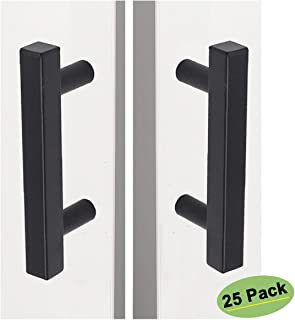 homdiy Black Cabinet Pulls 3 inch Cabinet Handles Black 25 Pack - HDJ22BK Black Drawer Pulls Modern Kitchen Cabinet Handles for Dresser Drawers, Closet, Wardrobe