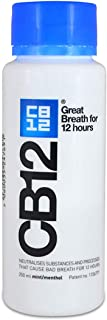 CB12 Mint Menthol Mouthwash, 250 ml
