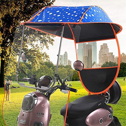Elektroauto Markise, Fahrrad Elektrische Sonnenschutz Regenschutz, Universal Auto Motor Roller Regenschirm Mobilität Sonne wasserdichte Regenschirm,B