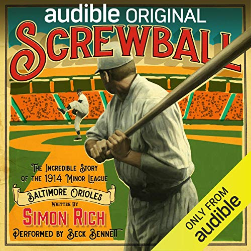 Screwball audiobook cover art