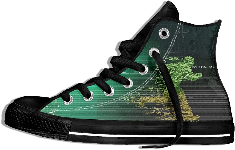 Yo Ou Running Man Lace-up Canvas shoes