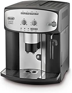 De'Longhi Caffe' Corso ESAM2800.SB 沙滩杯,银色和黑色