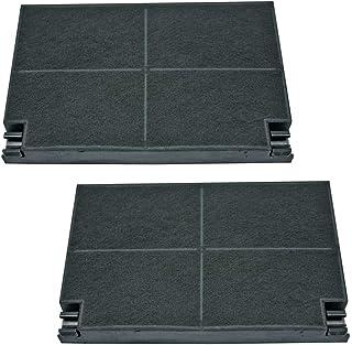 Lot 2 filtres charbons ROBLIN 5403002 23cm x 15cm (99333-3184) Hotte 5403002, EFF55 BRANDT