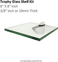 square glass shelf