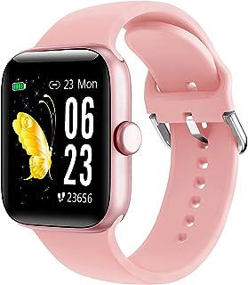 """LIFEBEE Smartwatch, 1,54"""" Reloj Inteligente Impermeable IP68 para Mujer Hombre, Pulsera de Actividad con Pulsómetro Monito..."""
