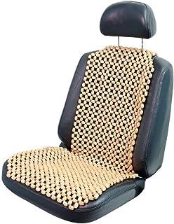 Holzperlen Sitzauflage mit Massage Komfortable Lordosenst/ütze ANJING Sommer universal Atmungsaktiv Gem/ütlich Auto Sitzbezug
