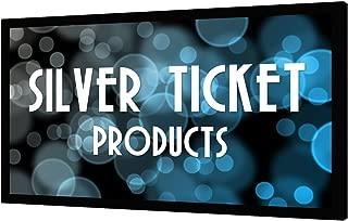 STR-169110-G Silver Ticket 4K Ultra HD Ready Cinema Format (6 Piece Fixed Frame) Projector Screen (16:9, 110