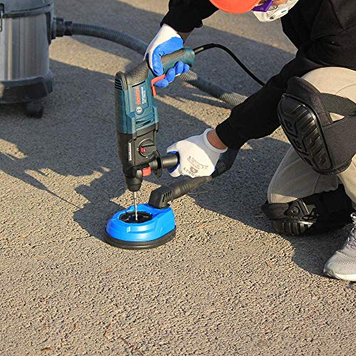 Vacuum-collecting ash bowl universal dust collection ash box Electric hammer impact drill electric drill dust cover Hammer Drill Dust Collector Attachment,Universal Dust Shroud for Drilling 1-3/8'