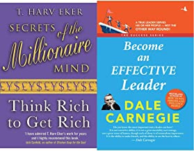 Secrets Of The Millionaire Mind +Become an Effective Leader (Set of 2 Books)