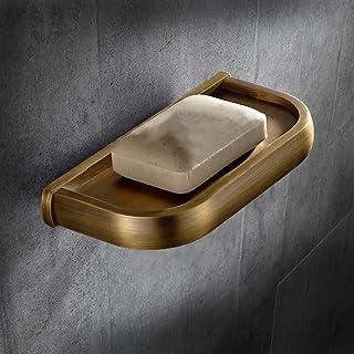 Black Retro Antique Color Bathroom Bathroom soap Dish soap Box Ark soap Dish American soap Holder Copper European Style So...