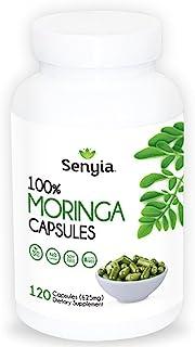 Sponsored Ad - Pure Moringa Powder Capsules 2500 mg Superfood - High Potency Energizing Supplement Antioxidant - 120 Raw W...
