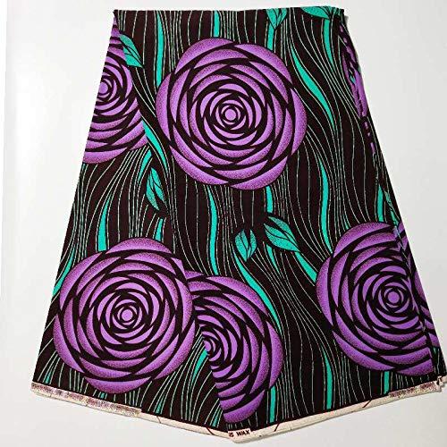 Lace Fabric African | Green Veritable Wax Guaranteed Real Dutch Wax 6Yard/Lot Dutch Wax African Ankara Fabric | by DOBTSore