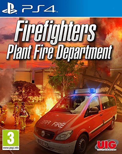 UIG - Firefighters Plant Fire Department /PS4 (1 Games)