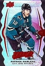 (CI) Patrick Marleau Hockey Card 2016-17 Upper Deck MVP Colors and Contours 127 Patrick Marleau