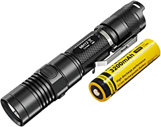 NITECORE MH12 Multitask Hybrid 1000 Lm Rechargeable Flashlight, Black