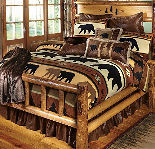 Black Bear Decor Blanket