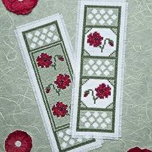 Twilleys of Stamford Poppy Dawn Bookmark Cross Stitch Kit