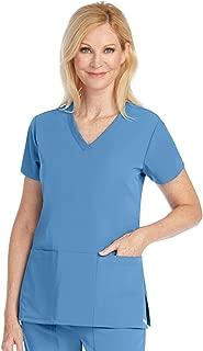 Grey's Anatomy Signature 3-Pocket Top for Women - Super-Soft Medical Scrub Top