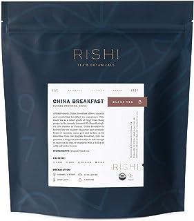 Rishi Tea China Breakfast Loose Leaf Herbal Tea | Immune & Heart Support, USDA Certified Organic, Fair Trade Black Tea, An...