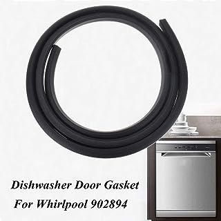 Dishwasher Rubber Door Seal Gasket Black Fit For Whirlpool 902894 Wp902894 Ps2097160 190Cm