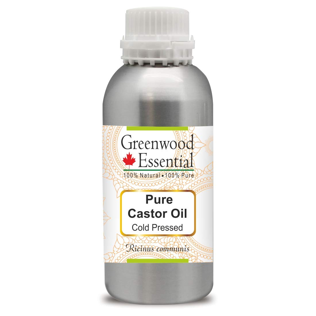 Greenwood Essential Pure Castor Oil communis Natu 40% OFF Cheap Sale Ricinus 100% Max 87% OFF