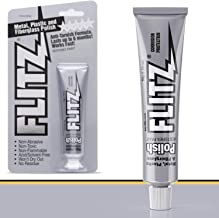 Flitz Multi-Purpose Polish and Cleaner Paste for Metal, Plastic, Fiberglass, Aluminum, Jewelry, Sterling Silver: Great for Headlight Restoration + Rust Remover, Made in the USA