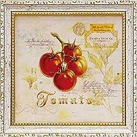 ミニゲル アートフレーム アンジェラ スターリング 「トスカーナのトマト」/ 絵画 壁掛け のあゆわら