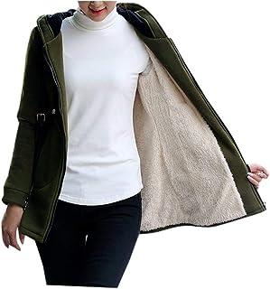 Doric Womens Winter Fleece Lined Zipper Hooded Coat Casual Sport Warm Jacket Outwear
