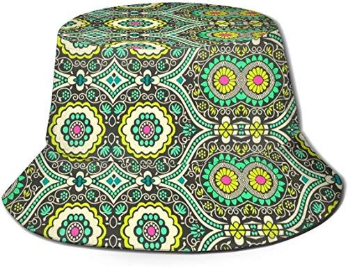 Sombrero de Pescador para Hombres y Mujeres, Sombreros para el Sol Estampados Reversibles Plegables, Pescador al Aire Libre, Viajes de Verano, Senderismo, Gorras de Playa, Graffiti D.Blue