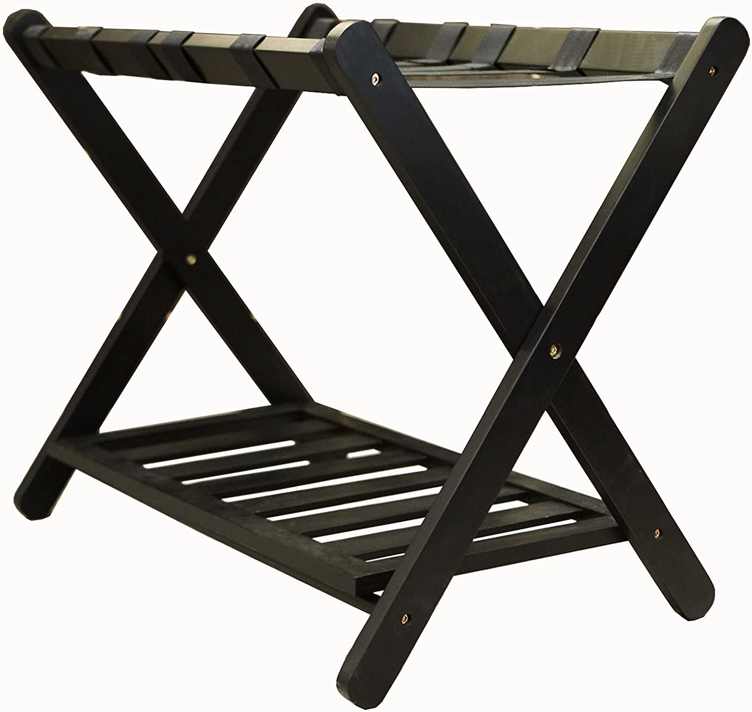 Unbrands Luggage Rack Max 84% OFF Folding Bedroo shop for with Shelf