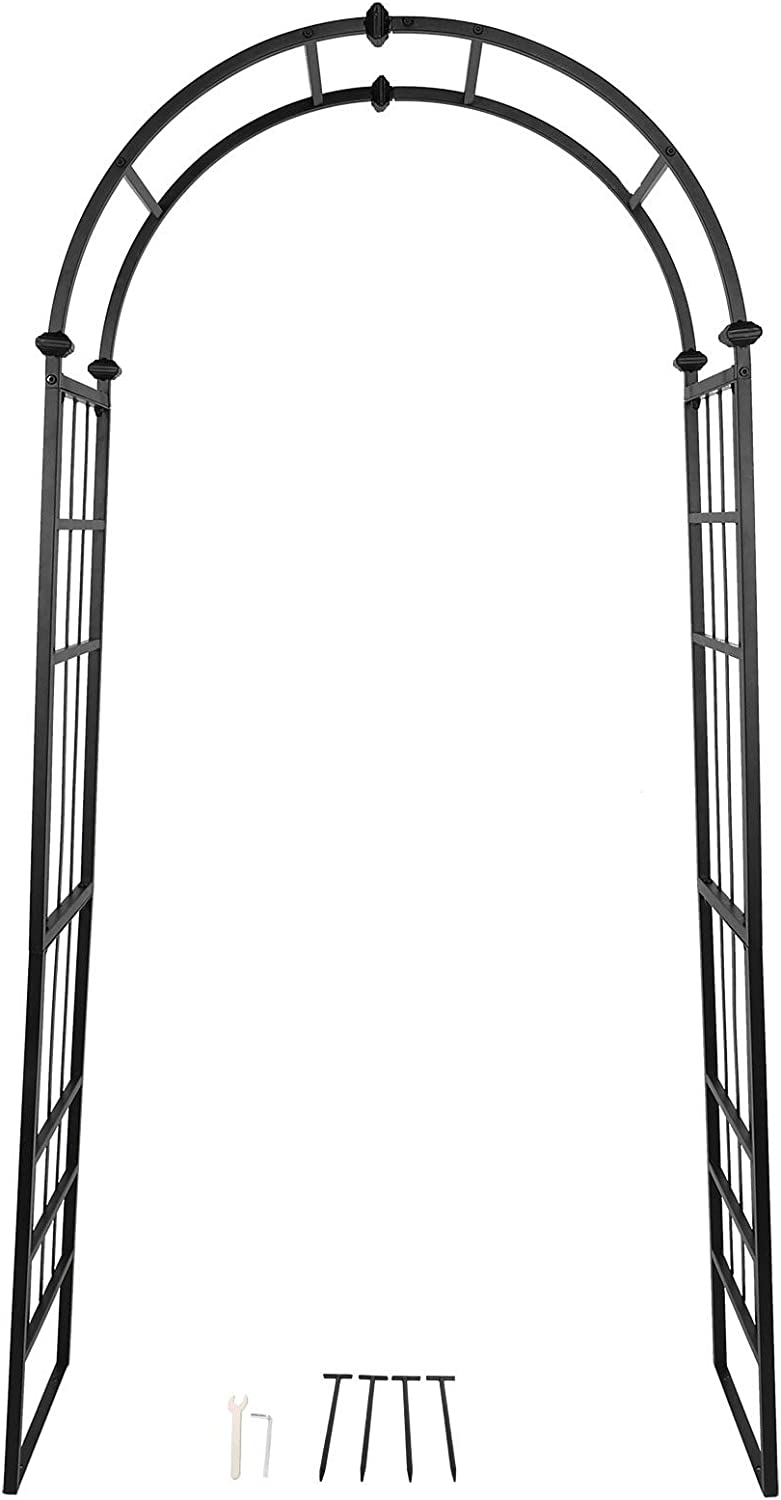 Longzhuo Wedding Arch Garden Outdoor Super popular specialty store Wrought Archway Iron f High quality