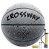 Street College Basketball Size 5-6-7 Indoor Outdoor Basketball 27.5', 28.5', 29.5' Composite PU Basketballs for Men, Women,Youth, Kid, Junior