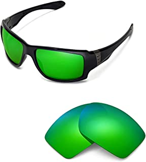 Walleva Replacement Lenses for Oakley Big Taco Sunglasses - Multiple Options Available