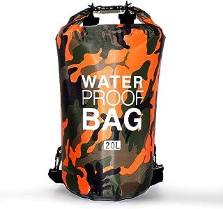 PVC Waterproof Dry Bag 2L 5L 10L 20L 30L Camo Outdoor Diving Foldable Man Women Beach Swimming Bag Rafting River Ocean bac...