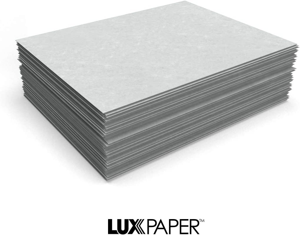 "LUXPaper 8.5/"" x 11/"" Paper for Crafts and Printing in Blue Parchment Scrapbook and Office Supplies Blue 250 Pack"