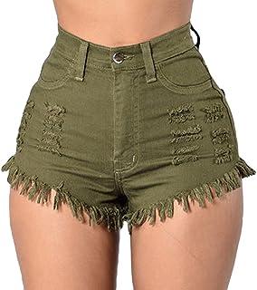 035b13fe9bda Amazon.es: Cremallera - Pantalones cortos / Mujer: Ropa