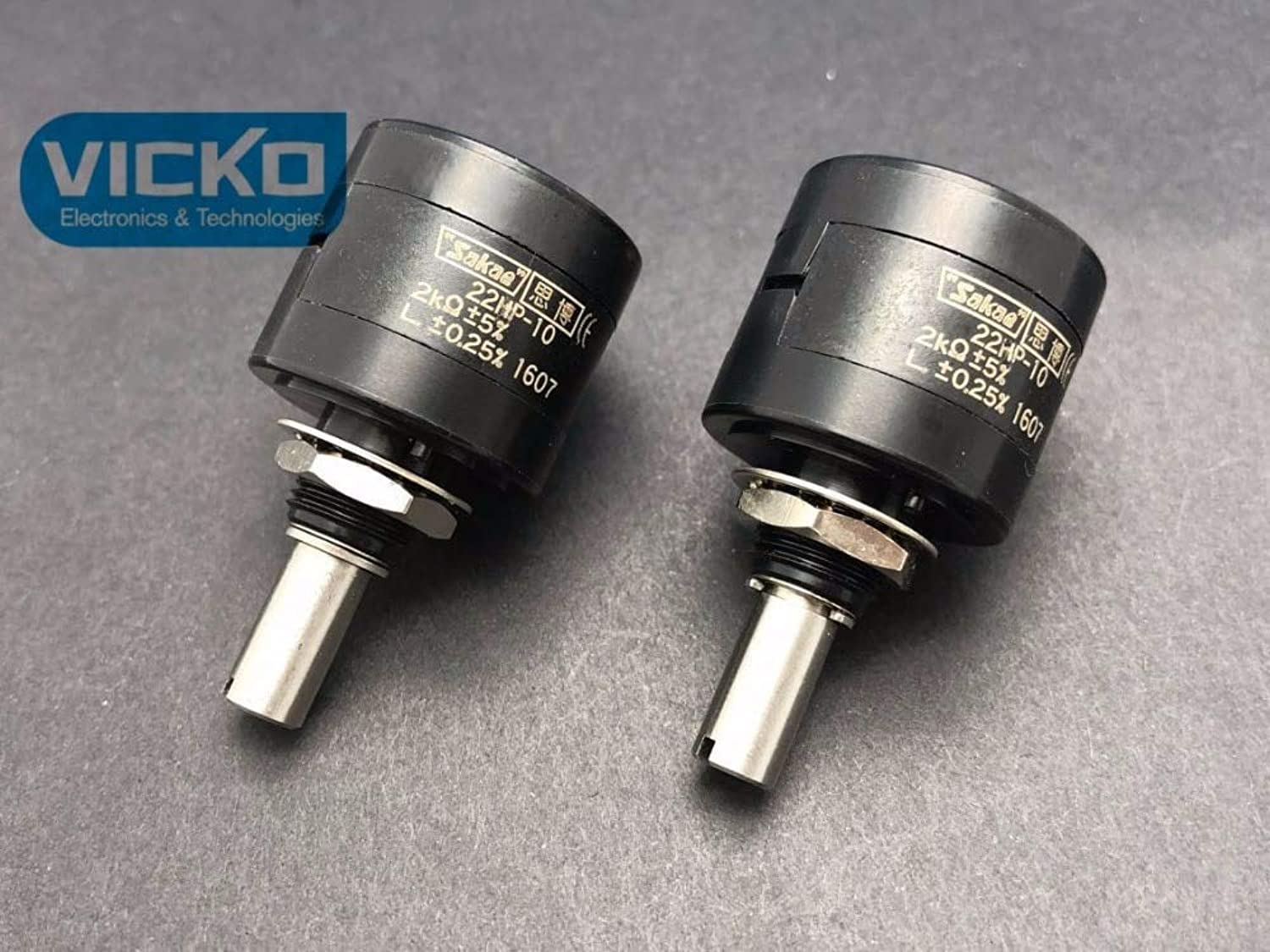 VK]Original Japan SAKAE Precision Multi-Turn Potentiometer 22HP 22HP
