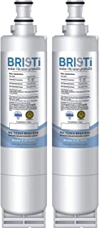 BRISTI 46-9010 Refrigerator Water Filter, Compatible With 46-9902, 46-9908, 4396510, 439650, 4396918, EDR5RXD1 (2-Pack)