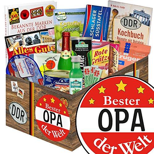 Bester Opa + Ost Spezialitäten + Geburtstags Geschenke