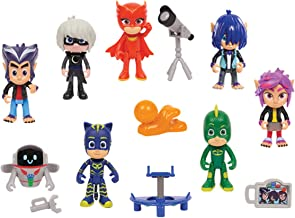 PJ Masks Deluxe 14Piece Figure Set