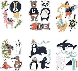 Animal Wall Sticker for Rooms Bedroom Decorations Wallpaper Mural Home Art Decals Cartoon Lion Koala Panda Kangaroo Tortoi...